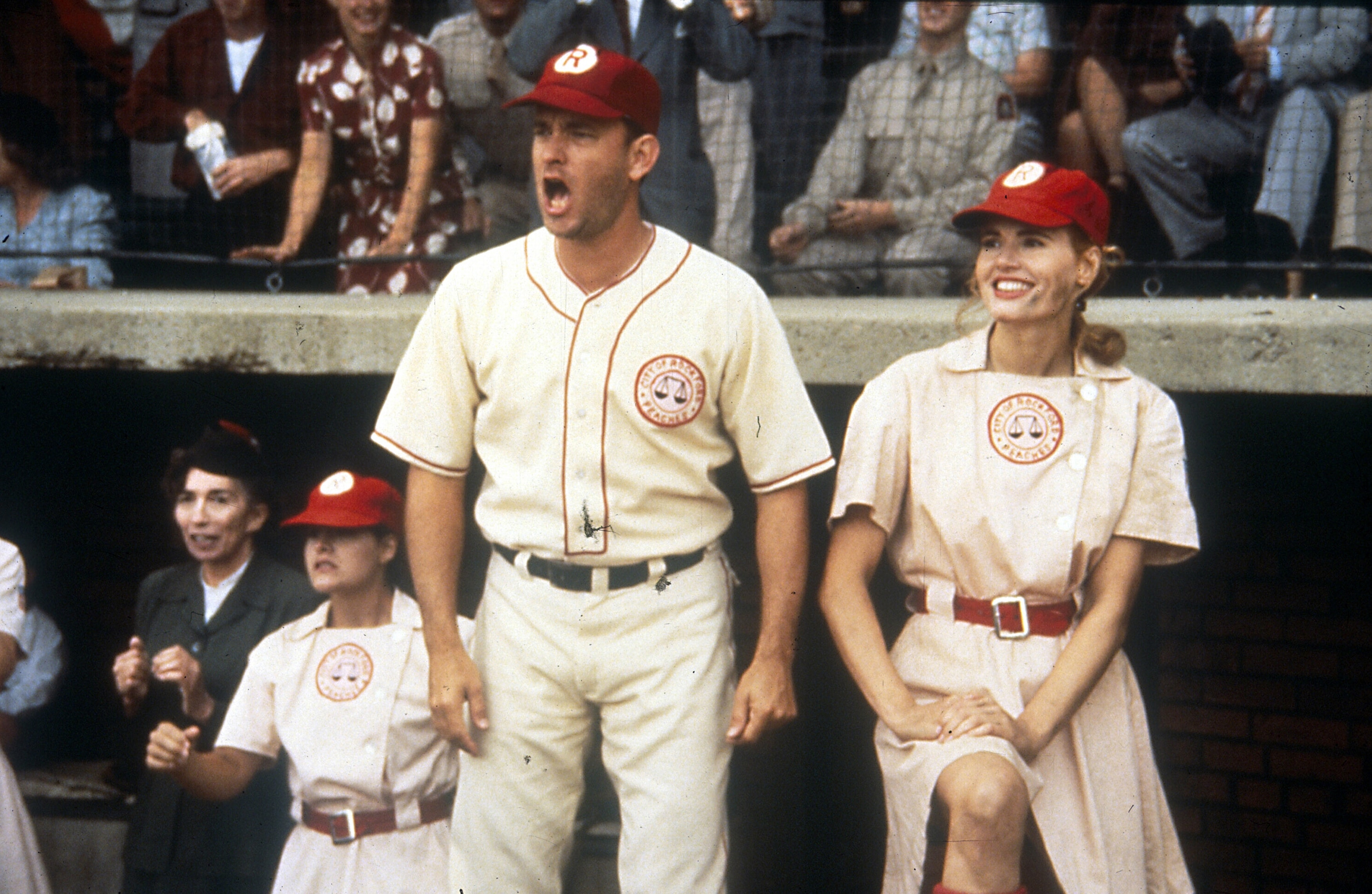 A League Of Their Own 1992 Turner Classic Movies Tom hanks, geena davis, lori petty and others. a league of their own 1992 turner